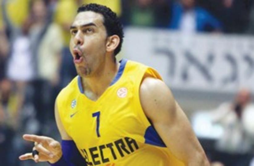Maccabi TA's David Blu 311 (photo credit: Adi Avishai)