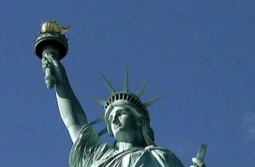 Statue of Liberty 311 (photo credit: Reuters)