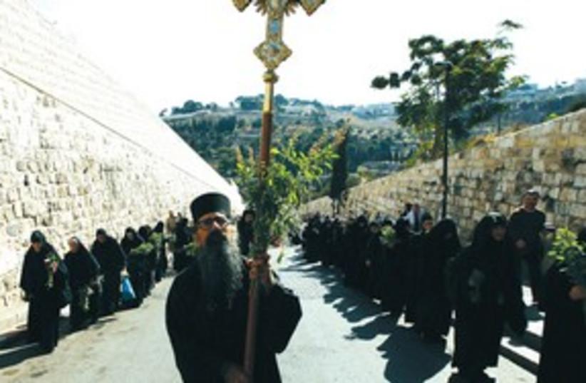 Greek Orthodox 311 (photo credit: Baz Ratner/Reuters)