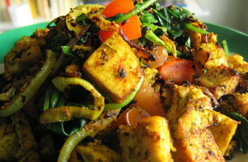Tofu is one of the most popular vegan foods
