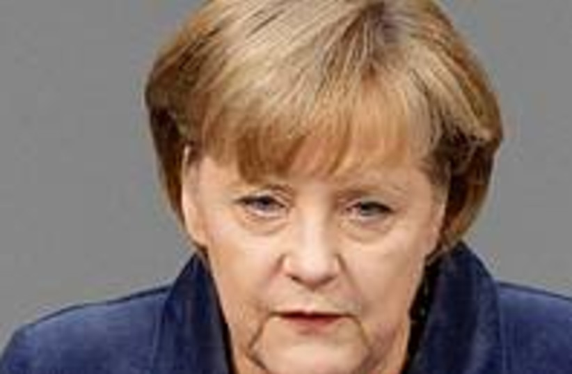 Angela Merkel 300 (photo credit: REUTERS/Fabrizio Bensch)