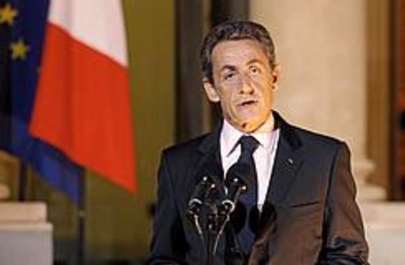 Nicolas Sarkozy 260 (photo credit: REUTERS/Benoit Tessier)