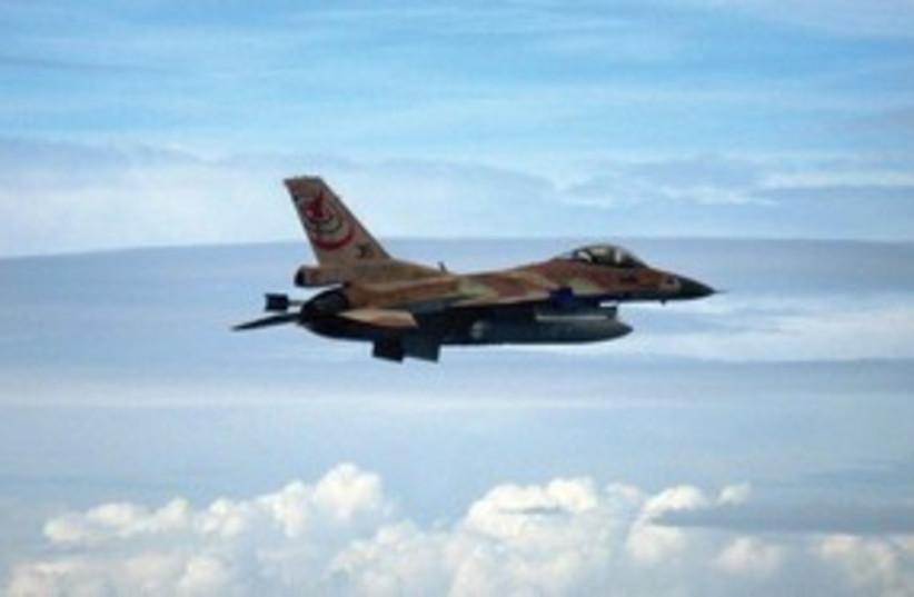IDF jet 311 (photo credit: IDF spokesperson)