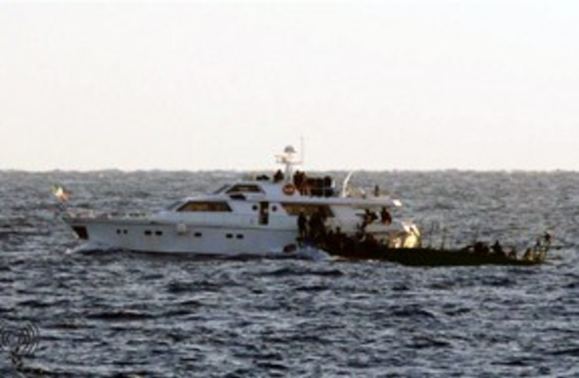IDF intercepts flotilla ship 311 (photo credit: IDF Spokesman's Office)