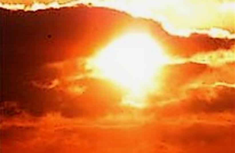 global warming sun224-88 (photo credit: )