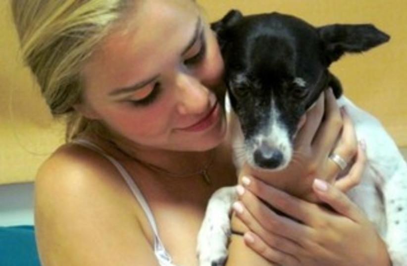 Puppy being held picasa (photo credit: Wendy Gardner)