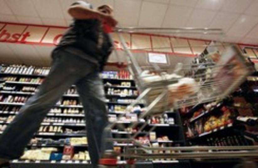 Man shopping in supermarket 260 (photo credit: REUTERS/Fabrizio Bensch)
