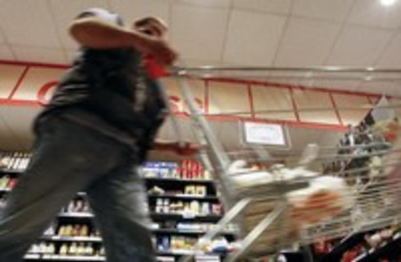 Man shopping in supermarket 300 (photo credit: REUTERS/Fabrizio Bensch)
