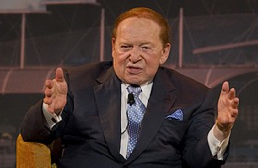 Sheldon Adelson 311 R (photo credit: Reuters)