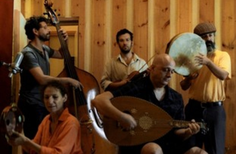 Oud band playing 311 (photo credit: Ilan Besor)