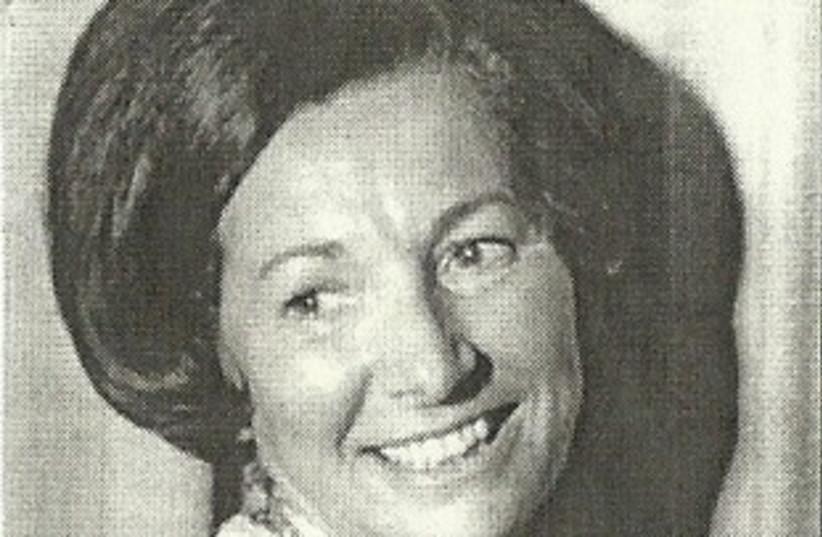 Carola Iserowski Greenspan (photo credit: The Greenspan family)