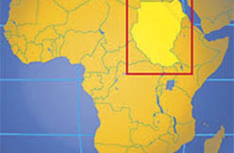 sudan map 248 88 (photo credit: Courtesy )