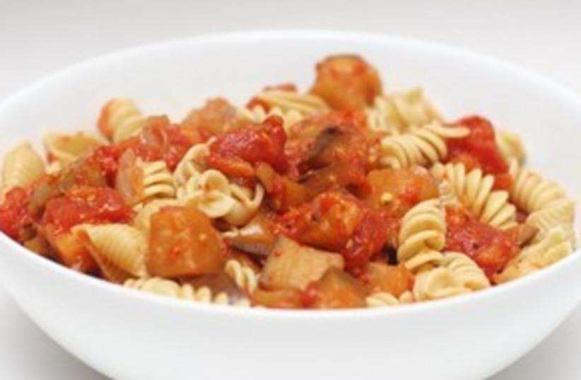 Eggplant pasta dish 311 (photo credit: Courtesy)