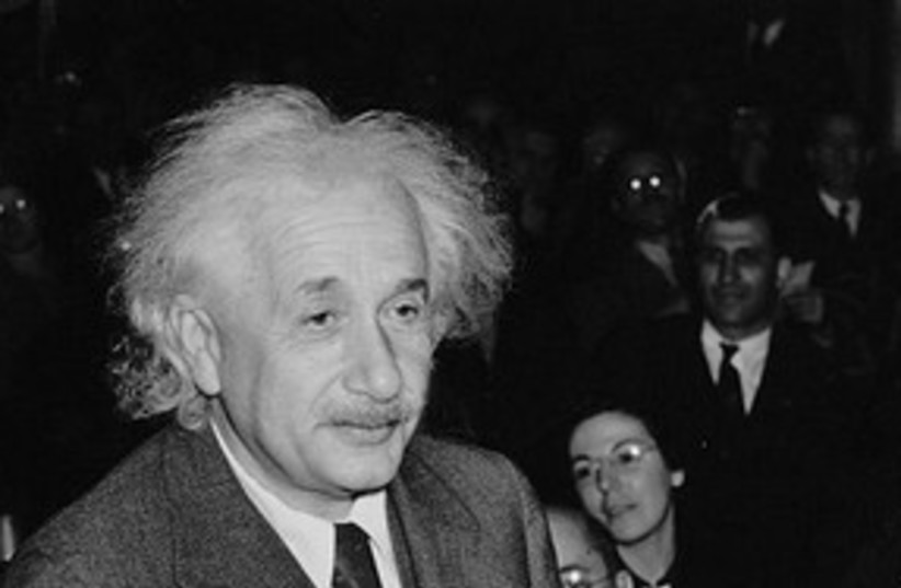 Albert Einstein 311 (photo credit: Al. Aumuller / Library of Congress)