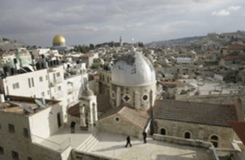 Jerusalem old city 260 (photo credit: REUTERS/Ammar Awad)