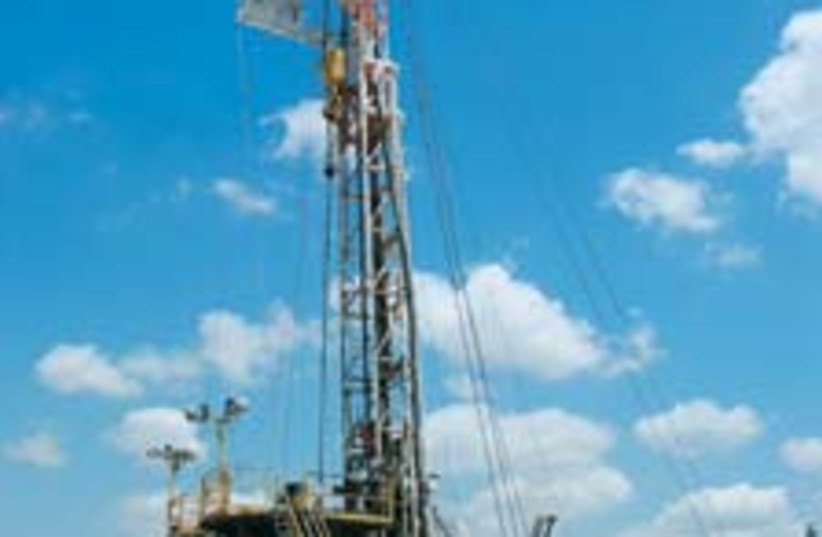 drilling feat 88 224 (photo credit: Courtesy of Zion Oil and Gas Company)