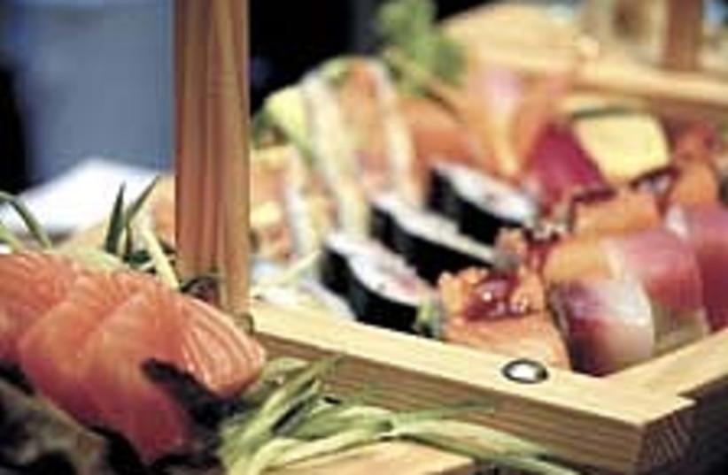 sushi 224.88 (photo credit: Asaf Kliger)