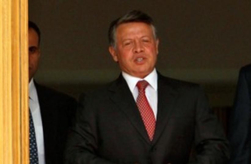 Jordan's King Abdullah II 311 (R) (photo credit: REUTERS/Muhammad Hamed)
