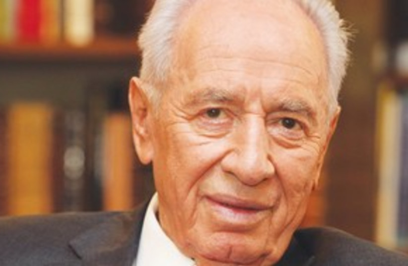 President Shimon Peres_311 (photo credit: Marc Israel Sellem)