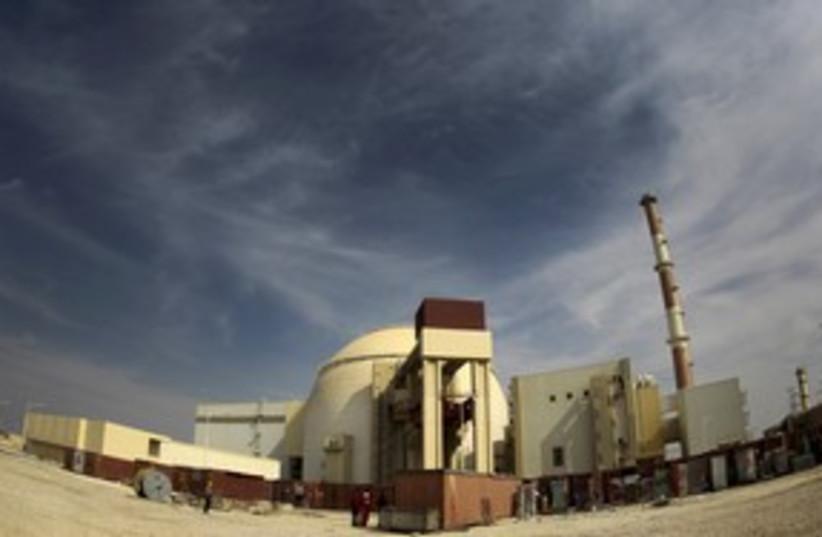Bushehr nuclear power plant_311 (photo credit: Reuters)