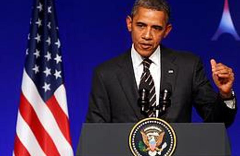 Barack Obama 260 (photo credit: REUTERS/CHRISTIAN HARTMANN)