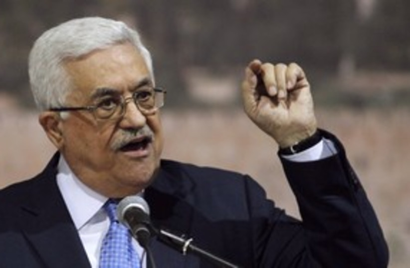 Abbas addresses Palestinian independence day_311 (photo credit: Reuters