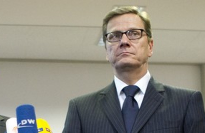 Guido Westerwelle (photo credit: Reuters)