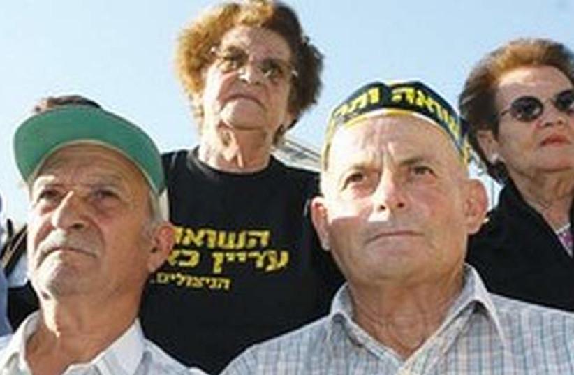 Holocaust survivors 521 (photo credit: Ariel Jerozolimski)