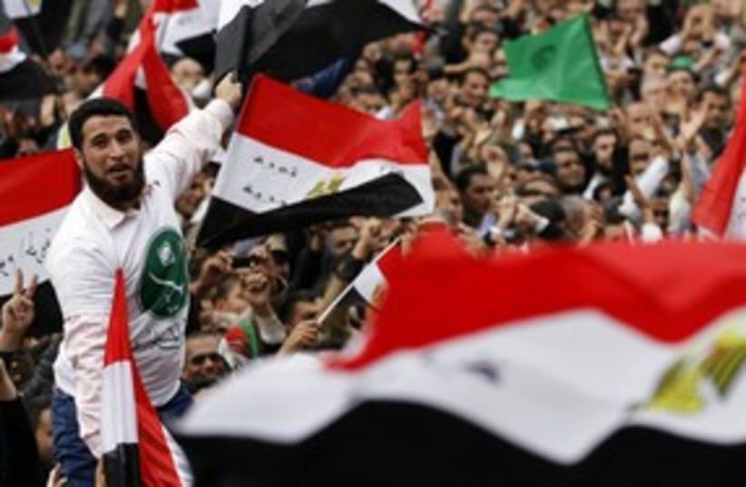 Egypt protests 311 (photo credit: Mohamed Abd El Ghany / Reuter)