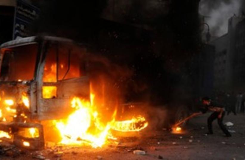 Tahrir Square Clashes 311 (photo credit: REUTERS)