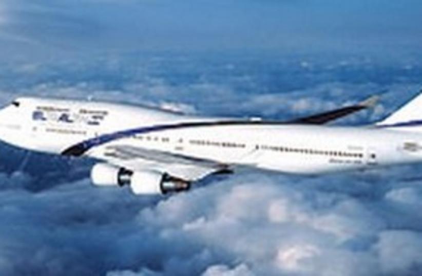 Elal plane 311 (photo credit: Courtesy)