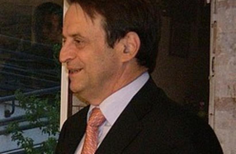 Deputy Prime Minister Dan Meridor. (photo credit: AP)