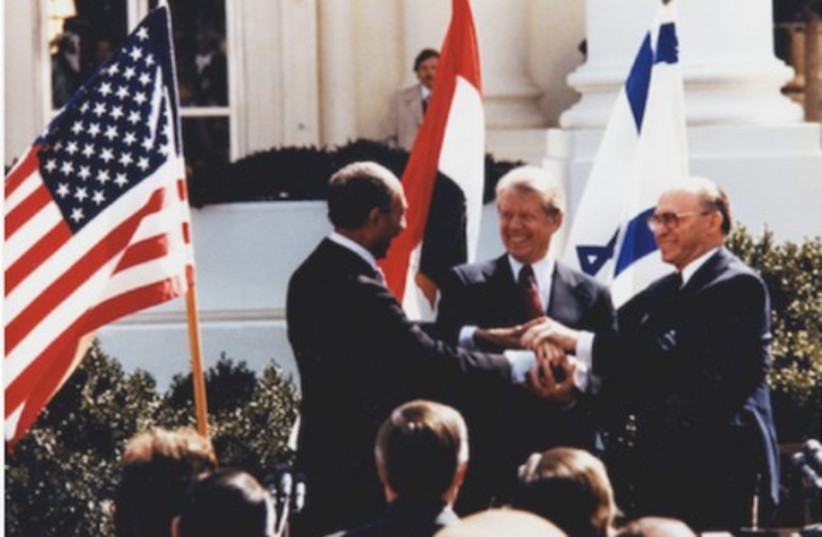 Sadat, Carter, Begin_150 (photo credit: Couretsy the Jimmy Carter Library)