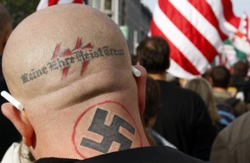 Neo Nazi 311 (photo credit: REUTERS)