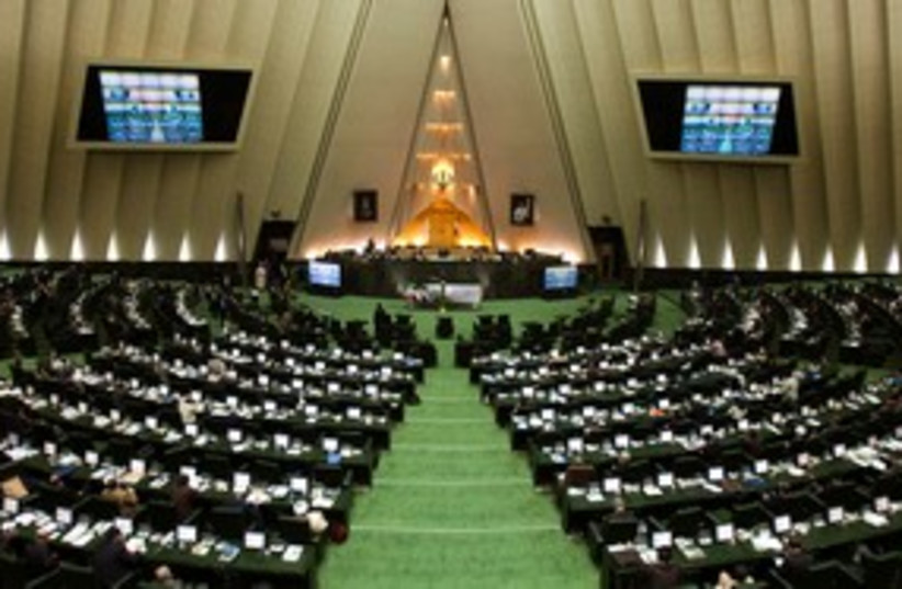 Iran's parliament 311 (R) (photo credit: REUTERS/Raheb Homavandi)