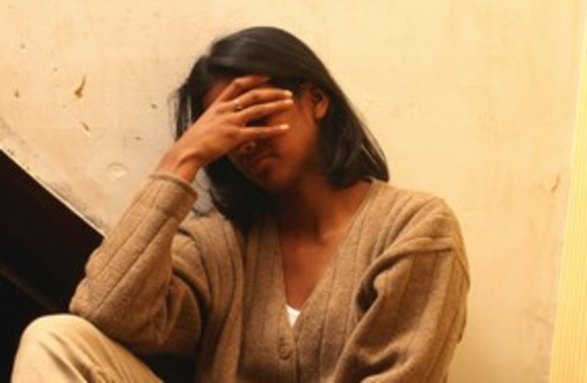 Domestic violence battered woman abuse 311 (photo credit: Thinkstock/Imagebank)