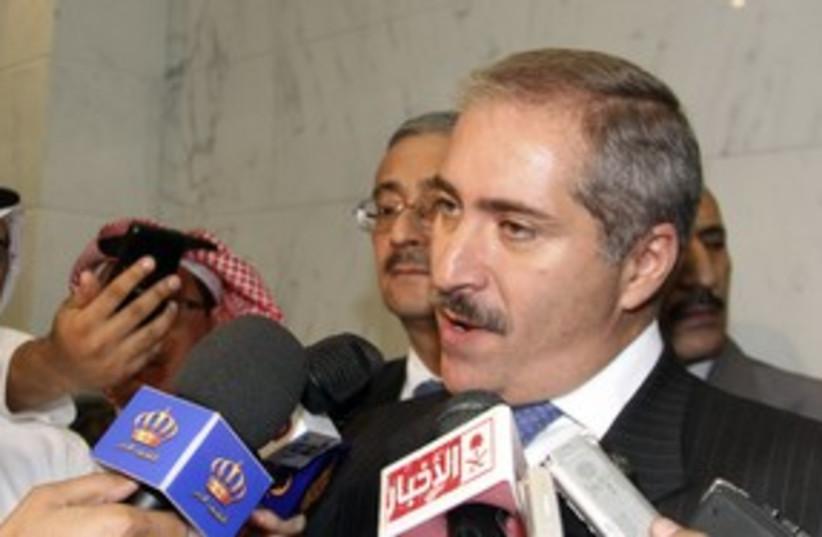 Jordanian FM Nasser Judeh_311 (photo credit: Reuters/Susan Baaghil)