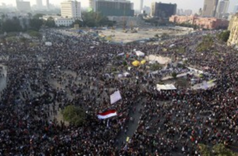 Egypt Tahrir Square million-man_311 (photo credit: REUTERS)