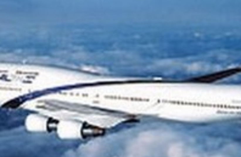 El Al plane (photo credit: Courtesy)