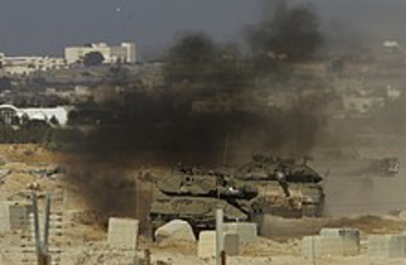 idf in gaza 224.88 (photo credit: )