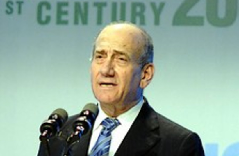 Olmert frowns 224.88 (photo credit: GPO)