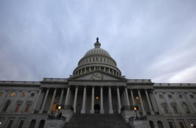 US Capitol building 311 (photo credit: REUTERS/Jim Bourg)