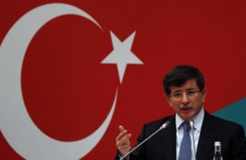 Turkish FM Davutoglu, Turkish-Italian Forum_311 (photo credit: Reuters/Murad Sezer)