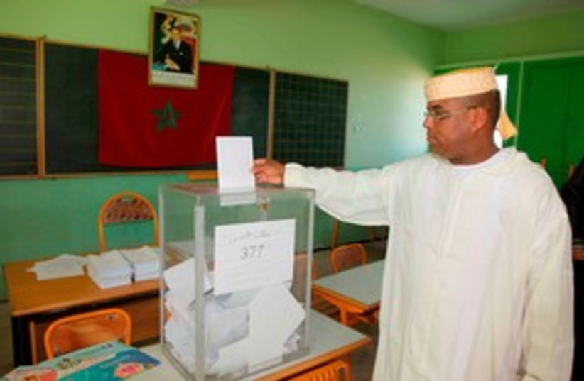 Voting Morocco election 311 (photo credit: REUTERS/Macao )