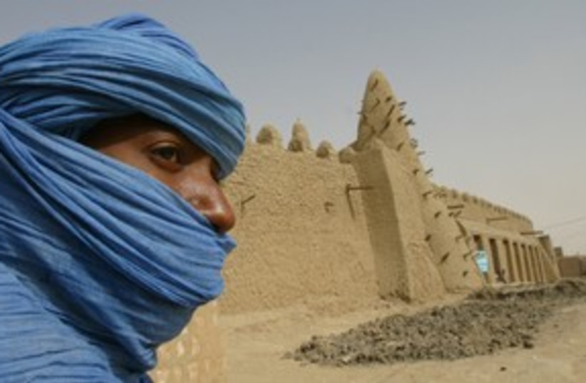 A Tuareg nomad  (photo credit: Reuters)