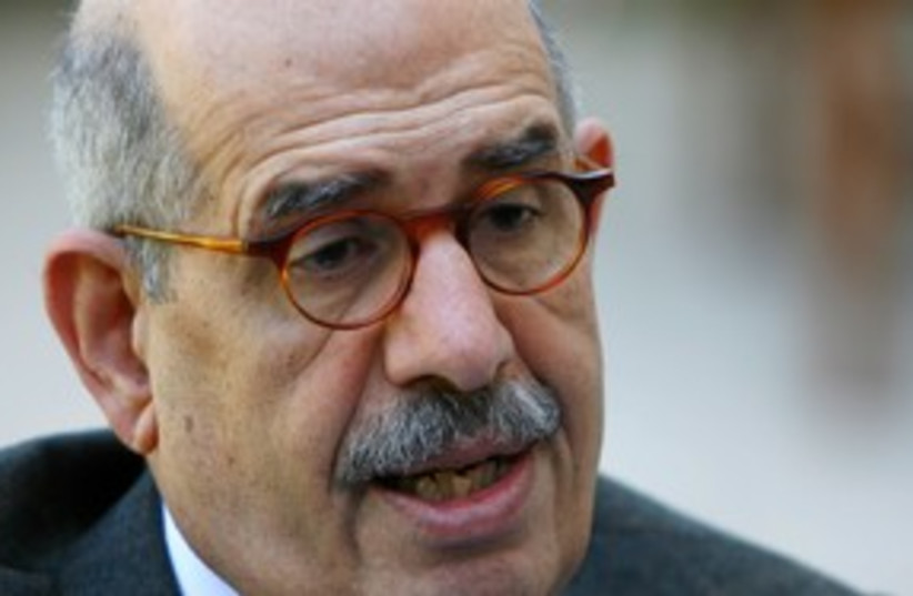 Egyptian presidential candidate Mohamed ElBaradei 311 (photo credit: REUTERS)