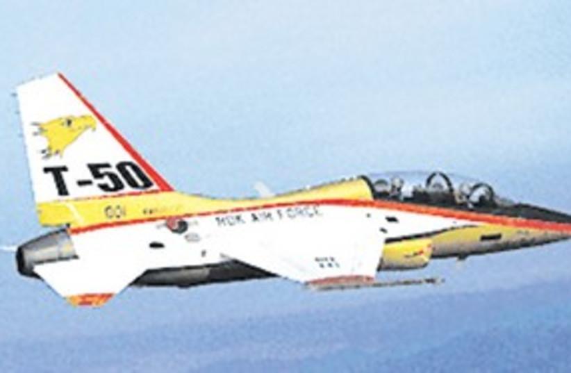 Korean Aerospace Industries' T-50 advanced trainer 311 (photo credit: Courtesy)
