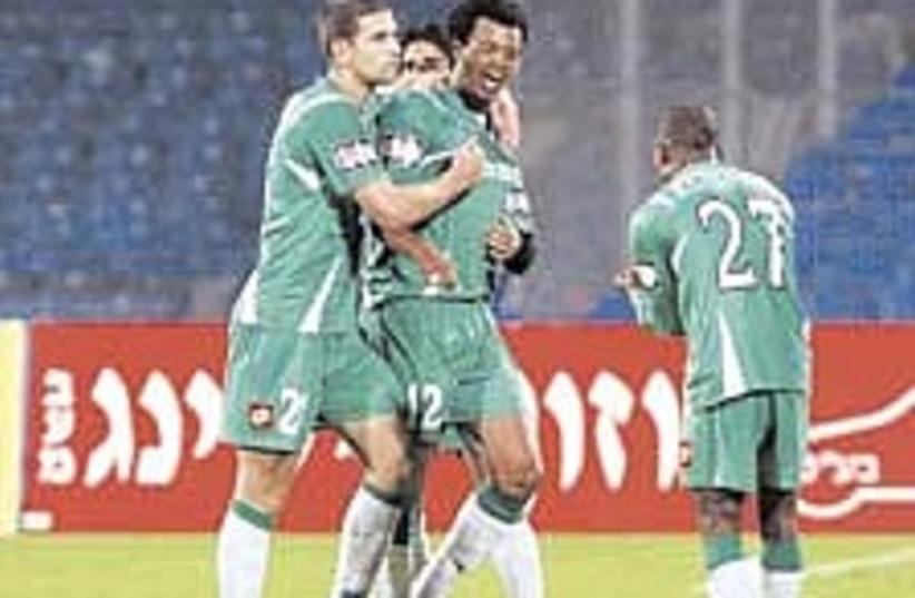 Maccabi Haifa 224.88 (photo credit: Berney Ardov)