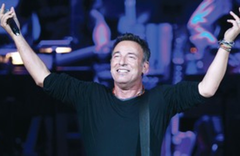 Bruce Springsteen 311 (photo credit: Lucas Jackson/Reuters)