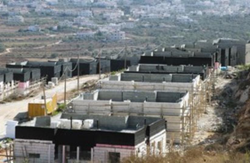 Shiloh settlement in West Bank 311 (photo credit: Marc Israel Sellem)